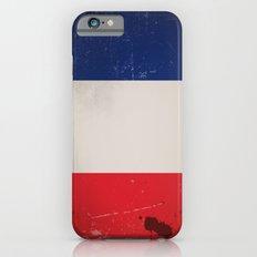 Vintage Flag of France iPhone 6 Slim Case