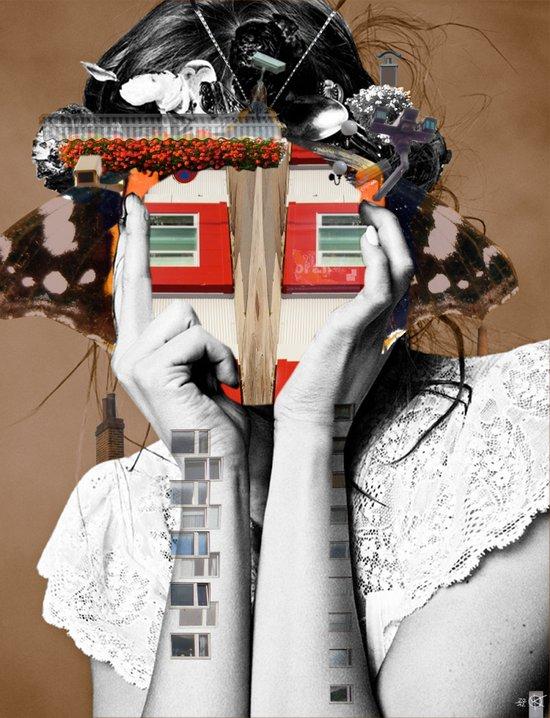 Crazy Woman - Lisa Lara Bella Canvas Print