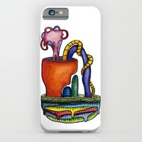 iPhone & iPod Case featuring Cuffed Bluff by BrainSoup