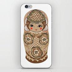 Matrushka iPhone & iPod Skin