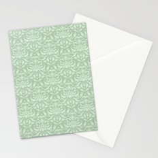 Cloud Factory Damask - River Lily Stationery Cards