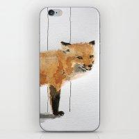 Smiling Fox iPhone & iPod Skin