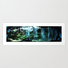 Metroid Metal: Tallon Overworld- Where it All Begins Art Print