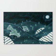 Midnight Run Canvas Print