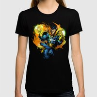 Dr Strange Womens Fitted Tee Black SMALL