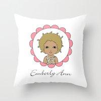 Emberly Ann Throw Pillow
