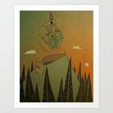o Grand Royal Wizard let me into your kingdom Art Print