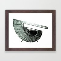 Iron Nautilus Framed Art Print