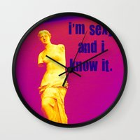 I'm Sexy And I Know It -… Wall Clock