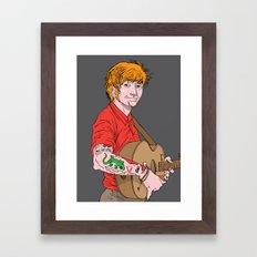 Ed Framed Art Print