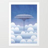 Cloud City Bespin Art Print