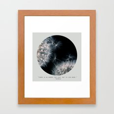 Love More Framed Art Print