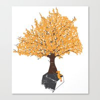 Tree Of Knowledge Canvas Print