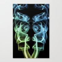 Smoke Photography #8 Canvas Print