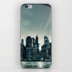 Manhattan Night iPhone & iPod Skin