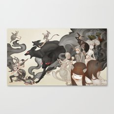 Internal Conflict Canvas Print