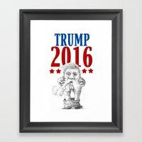 Trump 2016 Framed Art Print