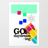 Gone Daydreamin'—art P… Art Print