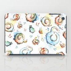 Elephants Pattern Watercolor iPad Case