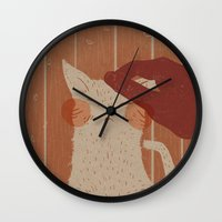 The Lives Of A Cat Wall Clock