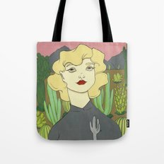 Lovely in the Middle Tote Bag