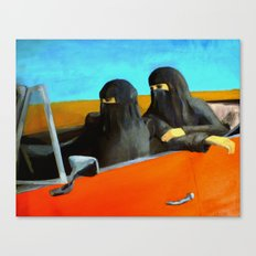 Women and Freedom Canvas Print