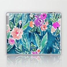 PARADISE FLORAL - NAVY Laptop & iPad Skin