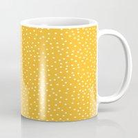 YELLOW DOTS Mug