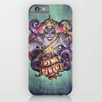 iPhone & iPod Case featuring SEA WITCH by Tim Shumate