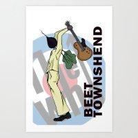 Beet Townshend Art Print