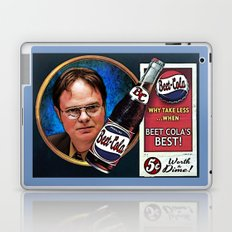 Dwight Schrute  |  Beet Cola Advertisement Laptop & iPad Skin