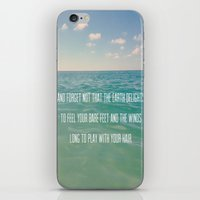 Oceanic Inspiration iPhone & iPod Skin