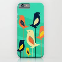 Mid Century Birds iPhone 6 Slim Case