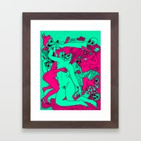 Allegorical Fight.  (Re… Framed Art Print