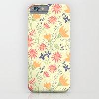 Autumn Floral Pattern iPhone 6 Slim Case