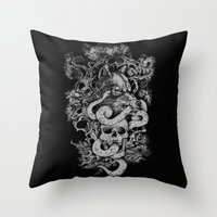 The End Of Light Throw Pillow