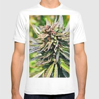 Purple Sticky Punch Mens Fitted Tee White SMALL