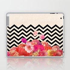 Chevron Flora II Laptop & iPad Skin