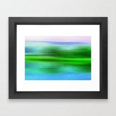 EARTH POEM Framed Art Print