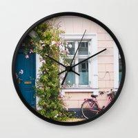 Bicycle. Wall Clock