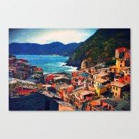 Coasting  Canvas Print
