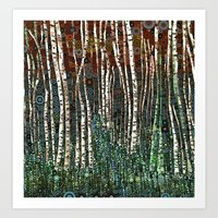 :: Wild in the Woods :: Art Print