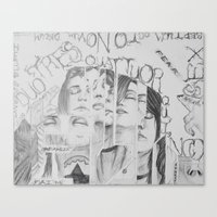 Teenagers Pt.2 Canvas Print
