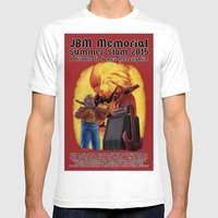 JBM Memorial Summer Slam 2015 Mens Fitted Tee White SMALL