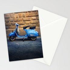 Blue Vespa, Italy Stationery Cards