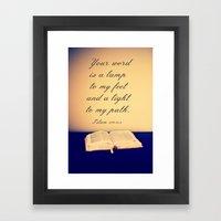 Bible  Framed Art Print