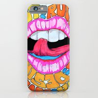 iPhone & iPod Case featuring Lust & Seduction by Kelsey Crenshaw