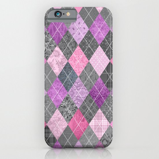Magic Argyle Quilt iPhone & iPod Case