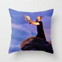 The AT-AT Sleeps Tonight Throw Pillow