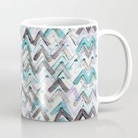 ZigZag Blue Mug